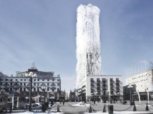 стокгольмский небоскреб