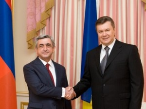 Серж Саргсян и Виктор Янукович