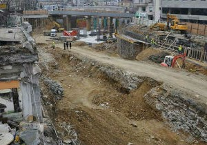 строительство на площади Таксим