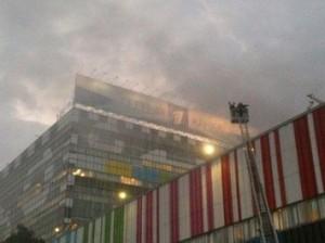 В Останкино произошел пожар