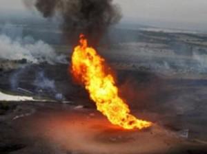 взрыв на нефтепроводе