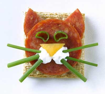 веселый бутерброд
