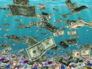деньги из реки