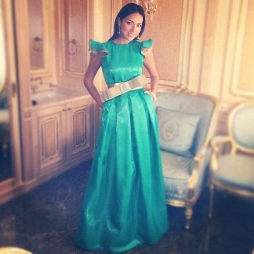 Шикарное платье на юбилей