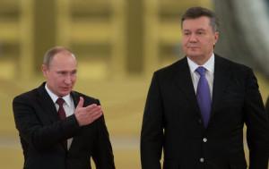 Владимир Путин Виктор Янукович