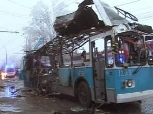 взрыв в троллейбусе