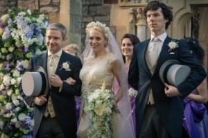 Фанаты угрожали убийством жене героя сериала «Шерлок»