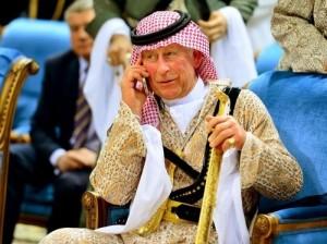 Британский принц Чарльз вытанцовывал на фестивале в Саудовской Аравии (видео)