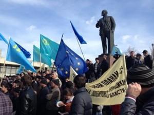 В Крыму требуют снести памятник Ленину в течение 10 дней