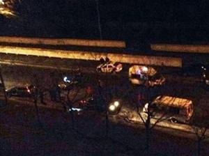 В Киеве неизвестные расстреляли наряд ГАИ, два инспектора убиты