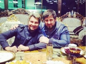 Певец Николай Басков похвастался дружбой с Рамзаном Кадыровым