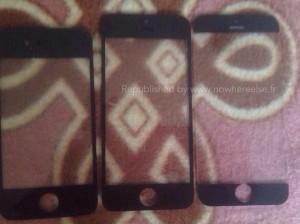 """Первое """"живое"""" фото фронтальной панели iPhone 6"""