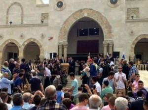 Рамзан Кадыров открыл мечеть близ Иерусалима