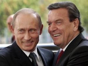 Шрёдер и Путин