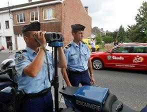 В Бельгии в течение суток выписали 16 тысяч штрафов за превышение скорости