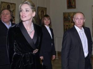 Владимир Путин увлекся Шэрон Стоун