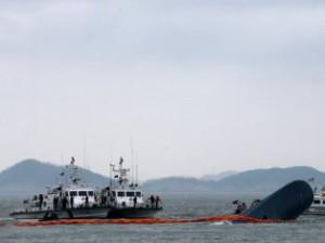 крушение парома в Южной Корее