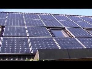 На крыше Белого дома установили солнечные батареи