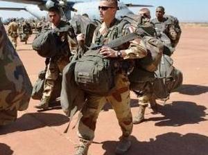 Франция посылает войска