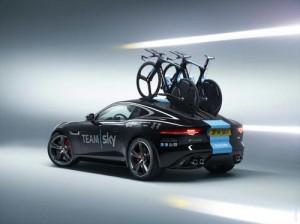Jaguar выпустил специальный спорткар для «Тур де Франс»