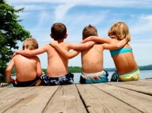 Друзья и члены семьи имеют генетические сходства
