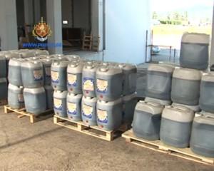 В Грузии задержаны двое мужчин, перевозившие три тонны жидкого героина