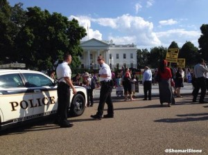 Белый дом в США оцеплен из за угрозы терракта