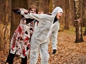 В московском парке атакуют зомби