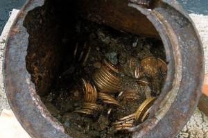 Американцы нашли клад с затонувшего испанского галеона