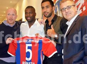«Бавария» официально представила Мехди Бенатиа