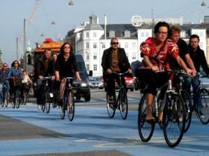Дания - лучшая страна для фанатов поездов и велосипедов