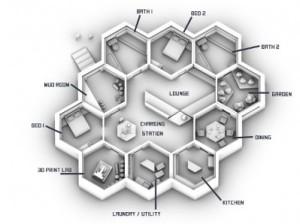 NASA выбрало дизайн для марсианских домов