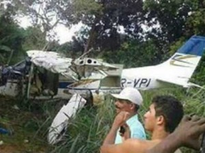 Ребенок обманул смерть, предвидев падение самолета на его дом