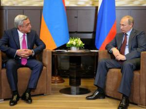 Президенты Армении и России обсудили пути урегулирования карабахского конфликта