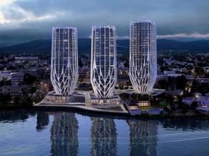 Здания-сосульки появятся в австралийском Брисбене