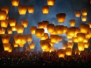 Во Флоренции начинается праздник фонариков