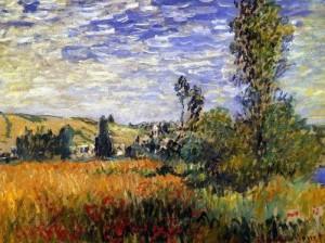пейзаж Клода Моне