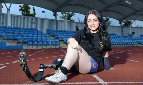Школьница просит отрезать ей ногу