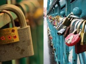 В Риме начали бороться с «замками любви»