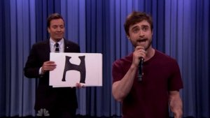 «Гарри Поттер» прочитал рэп в шоу Джимми Фэллона