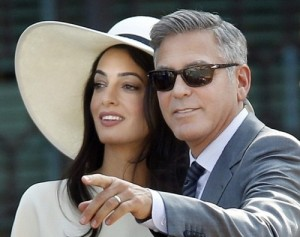 Джордж и Амаль Клуни вновь сыграли свадьбу