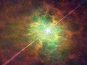 Ученые открыли нейтронную звезду с небывалым сиянием