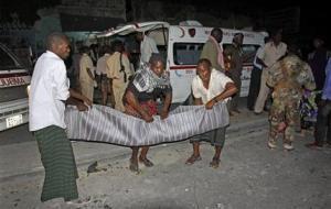 При взрыве в столице Сомали погибли 11 человек