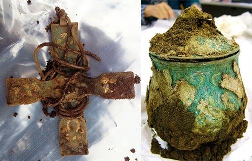 В шотландской церкви найден крупнейший клад викингов