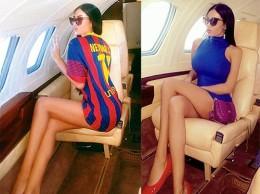 Неймар послал самолет за сербской моделью