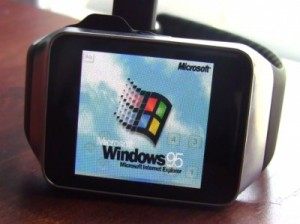 Windows 95 запустили на умных часах Samsung