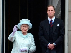 Елизавета II передает трон Уильяму и Кейт