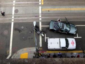 мойщик окон упал с 11 этажа