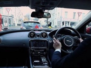 Jaguar изобрел прозрачный автомобиль