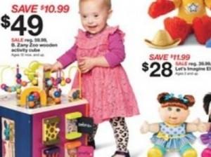 В американской рекламе сняли ребенка с синдромом Дауна